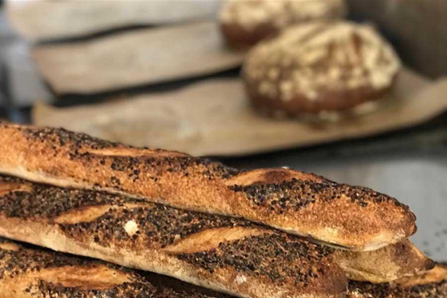 The General Cafe sour dough baguettes